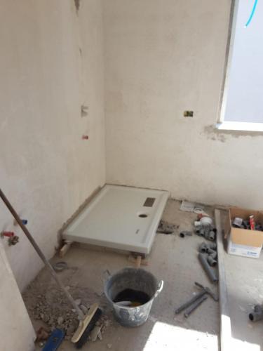 work in progress - realizzazione bagno