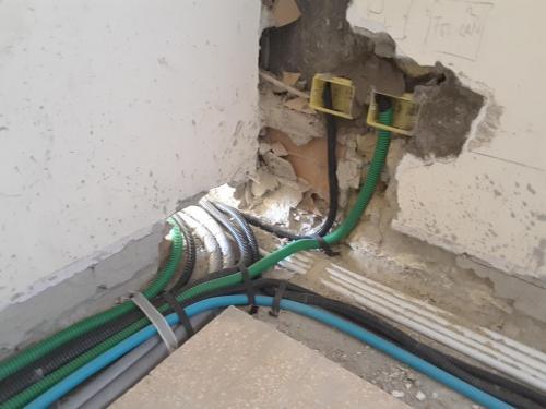 impianto riscaldamento e impianto elettrico